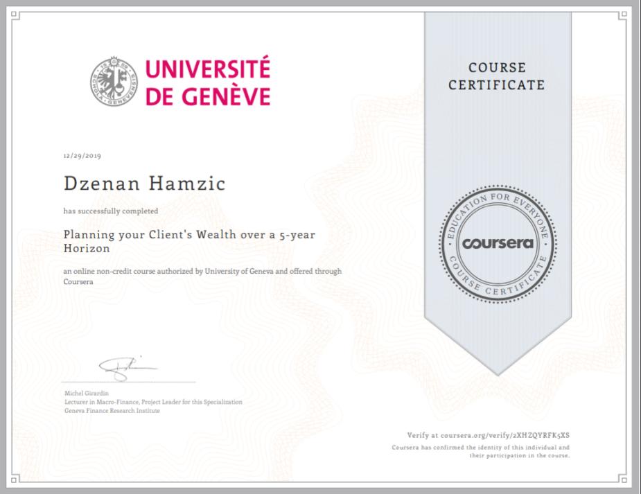 PlaningClientsWealthover5YHorizon-Certificate